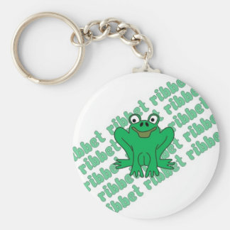 Frog Ribbet Keychain