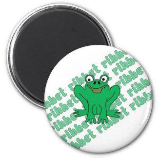 Frog Ribbet Magnet