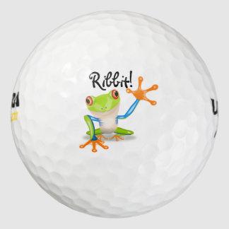 Frog! Ribbit! - GOLF BALLS-Customize Your Own Golf Balls