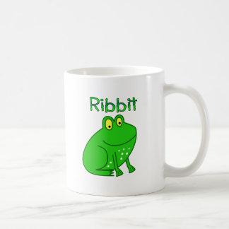 Frog Ribbit Classic White Coffee Mug