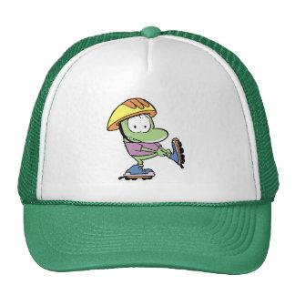 Frog Roller Blade Cartoon Cap