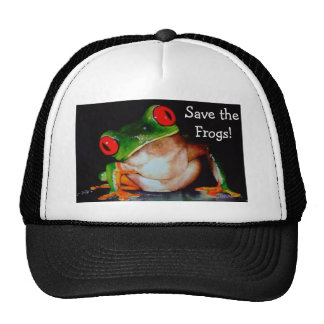 Frog, Save the Frogs! Trucker Hat