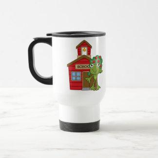 Frog School House Travel Mug