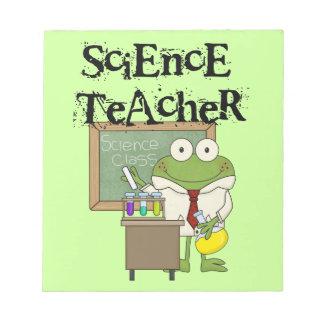 Frog Science Teacher Scratch Pad