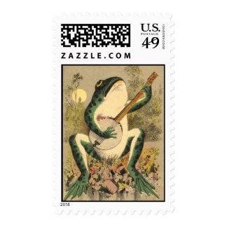 Frog Serenade Postage