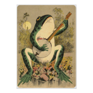Frog Serenade Poster