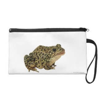 Frog shadow wristlet purse