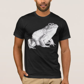 Frog Shirt Bullfrog Art T-shirt Cool Frog  Gift