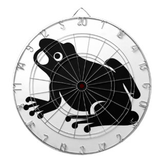 Frog Silhouette Dart Boards