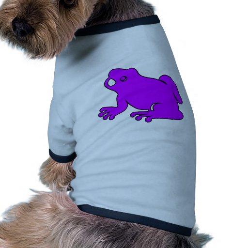Frog Silhouette Froggy Jump Amphibians Hop Pet T Shirt