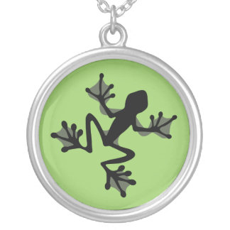 Frog Silhouette Necklace