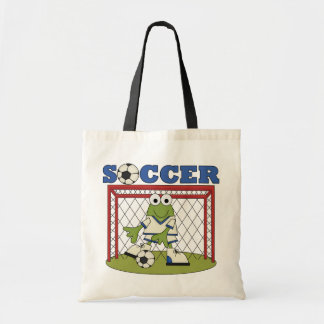 Frog Soccer Goalie T-shirts and Gifts Tote Bag