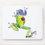 Frog Spring Green Mouse Pad