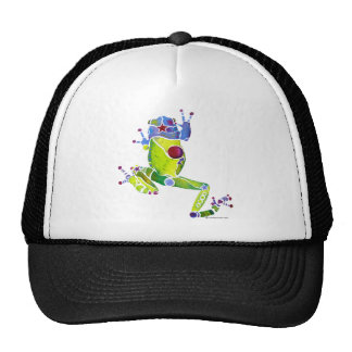 Frog Spring Green Trucker Hat