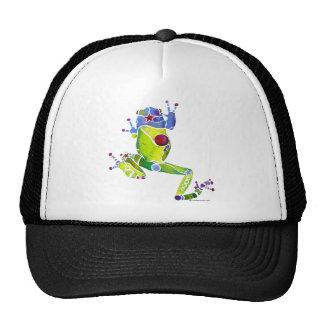 Frog Spring Green Trucker Hat
