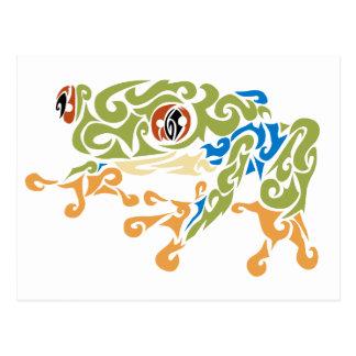 Frog Squirels Postcard
