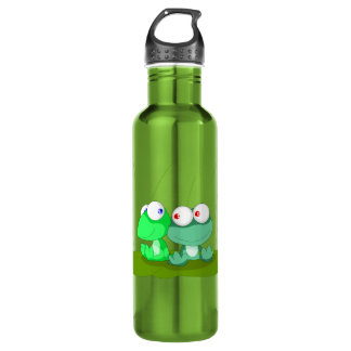 Frog Stainless Steel Water Bottle