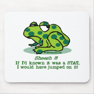 Frog STAT Mouse Mat