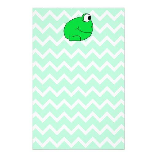 Frog. Stationery Design