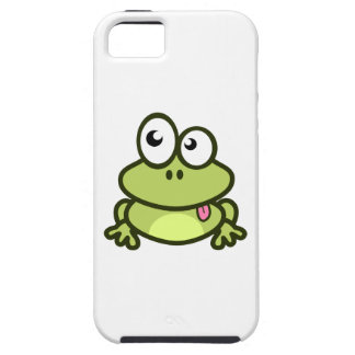 Frog Sticking Out Its Tongue iPhone SE/5/5s Case