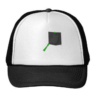 Frog Stuck In A Black Pocket Trucker Hat