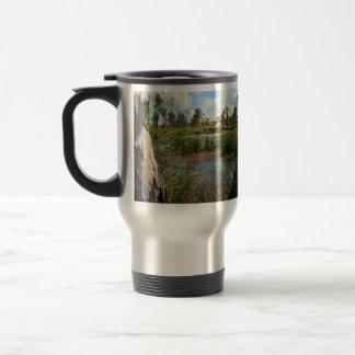 Frog_Swap_Paradise,_Commuter_Travel_Mug Travel Mug