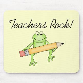 Frog Teachers Rock Tshirts and Gfits Mouse Pad