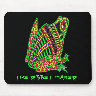 Frog, The Ribbet Maker Mouse Pad