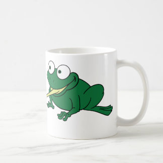 Frog Tongue Coffee Mug