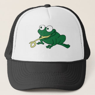 Frog Tongue Trucker Hat
