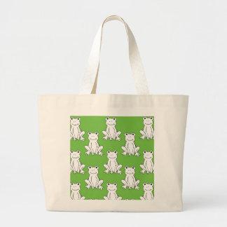 Frog Tote Canvas Bag