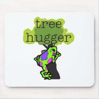 Frog Tree Hugger Mouse Pad