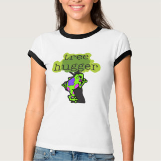 Frog Tree Hugger T-shirts and Gifts