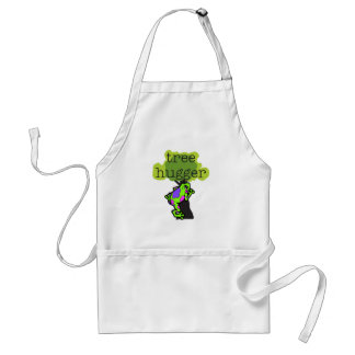 Frog Tree Hugger T-shirts and Gifts Adult Apron