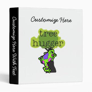 Frog Tree Hugger T-shirts and Gifts Binder