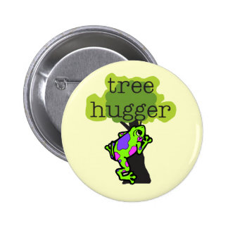 Frog Tree Hugger T-shirts and Gifts Pins