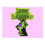 Frog Tree Hugger T-shirts and Gifts Postcard