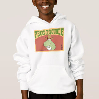 FROG TROUBLE by Sandra Boynton Official Apparel Hoodie