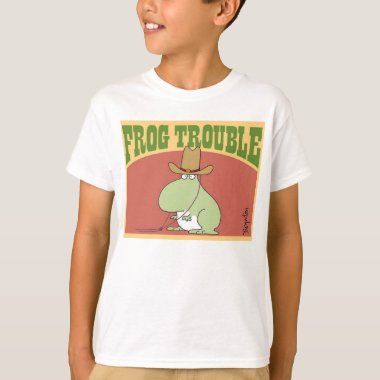 FROG TROUBLE by Sandra Boynton Official Apparel T-Shirt
