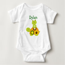 Frog Turtle Baby Boy Baby T-Shirt
