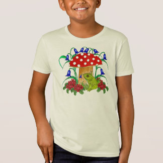 Frog under toadstool T-Shirt