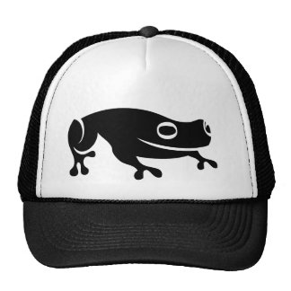 Frog vectorized minial illustration trucker hat
