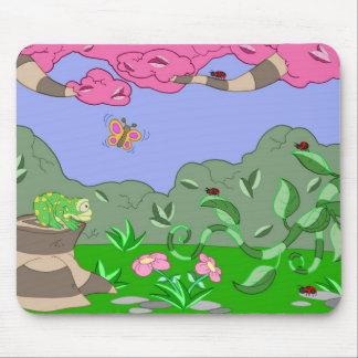 frog vs adybugs mouse pad