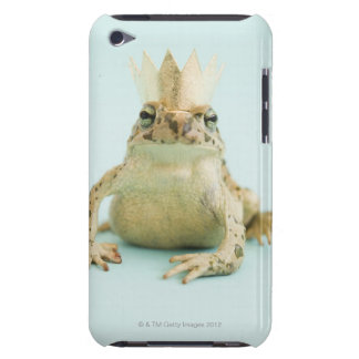 Frog wearing crown iPod Case-Mate cases