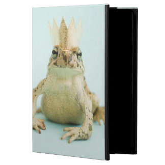 Frog wearing crown case for iPad air