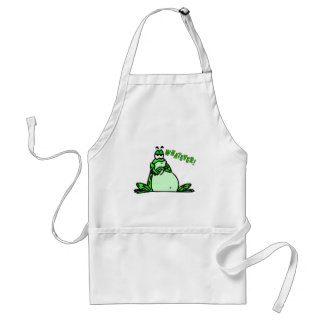 Frog whatever adult apron