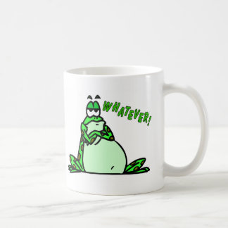 Frog whatever coffee mug