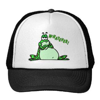 Frog whatever trucker hat