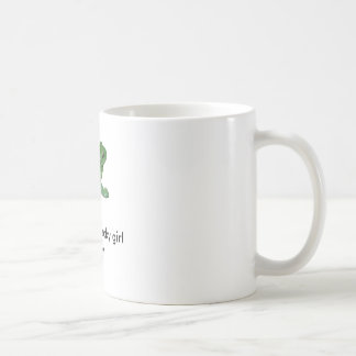Frog, Who's the lucky girl Classic White Coffee Mug