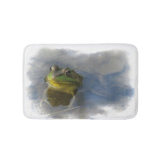 Frog with Attitude Bath Mats